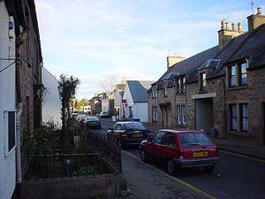 Dingwall - Image: Dingwallhillst