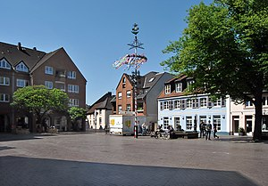 "Old marketplace called ""Altmarkt"" in..."