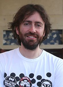 Director Daniel Sanchez Arzvalo at MIFF (cropped).jpg