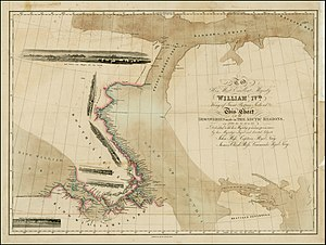 Thomas Abernethy (explorer) - John and James Ross's 1834 map