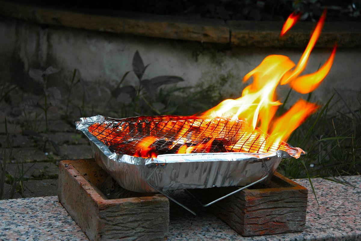 disposable grill wikipedia. Black Bedroom Furniture Sets. Home Design Ideas