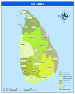 Districts of Sri Lanka