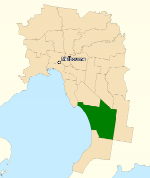 Division of Isaacs - Division of Isaacs in Victoria, as of the 2016 federal election.