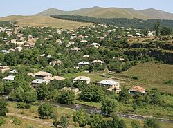 Dmanisi. Western outskirts of the town (Photo A. Muhranoff, 2011).jpg