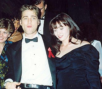 Shannen Doherty - Doherty with Jason Priestley at the Governor's Ball following the 43rd Annual Emmy Awards, August 1991