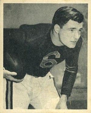 Don Kindt - Don Kindt 1948 Bowman football card.