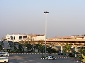Don Mueang Airport near Bangkok - Skyway seen from domestic terminal.JPG