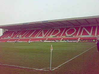 County Ground (Swindon) - The Don Rogers Stand