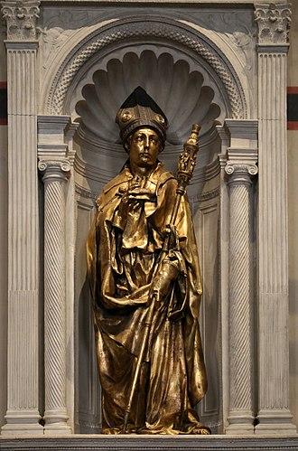 Saint Louis of Toulouse (Donatello) - Image: Donatello, san luigi di tolosa, 1423 25, 02