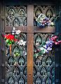 Door of Norte family mausoleum (in which Eva Peron is buried), Cementario de la Recoleta, Recoleta, Buenos Aires, Argentina, 28th. Dec. 2010 - Flickr - PhillipC.jpg