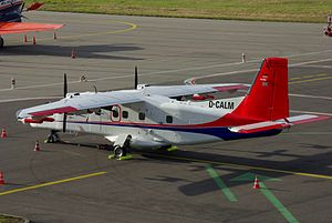 Natural Environment Research Council - The Dornier Do 228 of the Natural Environment Research Council registered D-CALM.