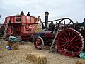 Dorset Steam Fair Threshing Demonstration.JPG