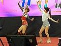 Dou and Vivi playing Just Dance 2020 20191229b.jpg