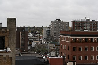 Oshawa City in Ontario, Canada