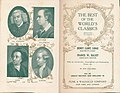 Dr. Samuel Johnson, Oliver Goldsmith, Alexander Pope, Edward Gibbon. The Best of the World's Classics, 1909. (4079049409).jpg