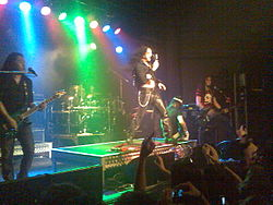 DragonForce live in Melbourne (2007)