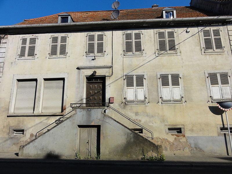 Alsace, Bas-Rhin, Drulingen, Maison (XIXe), 18 rue du Général-Leclerc.