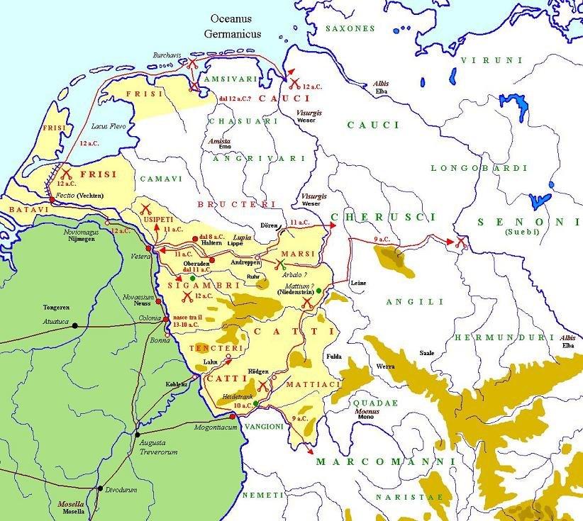 Druso in Germania per Wikipedia