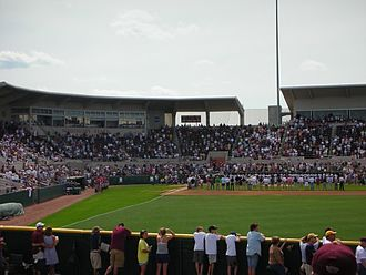 Dudy Noble Field, Polk–DeMent Stadium - Image: Dudy Noble from Right Field
