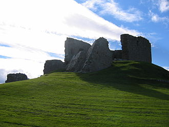 Lord Duffus - Duffus Castle where the Sutherland of Duffus family were seated from 1350 to 1705.