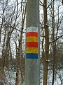 Dutch hiking route markings.JPG