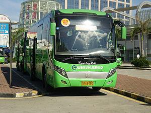 Zhongtong Bus - Image: EBUS K651 1