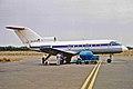 EX-87470 Yak-40 Kyrghyzstan Airlines SHJ 21NOV00 (6813275290).jpg
