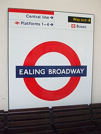 Ealing Broadway stn District roundel.JPG
