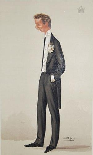 Arthur Cairns, 2nd Earl Cairns - Earl Cairns as caricatured by Spy (Leslie Ward) in Vanity Fair, January 1886