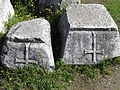 Early Christian carvings from the Basilica A, end of the 5th century AD, Philippi (7272363142).jpg