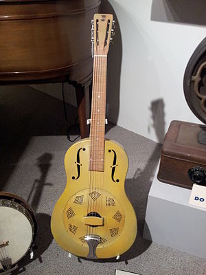 Resonator guitar - Early resonator guitar.