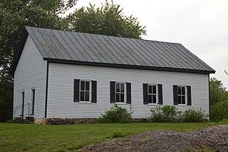 Earlysville Union Church church building in Virginia, United States of America