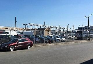 East Somerville station Light rail station in Somerville, Massachusetts