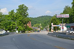 Frenchburg, Kentucky.
