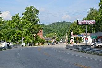 Frenchburg, Kentucky - Walnut Street