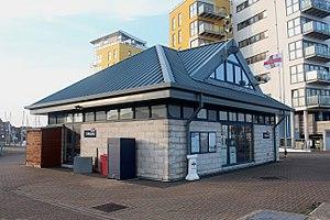 Eastbourne Lifeboat Station - Eastbourne Lifeboat Station at Sovereign Harbour, Eastbourne