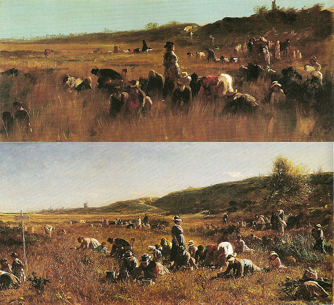 File:Eastman Johnson - The Cranberry Harvest, Island of Nantucket - ejb - figs 59 60 - pg 102-3.jpg