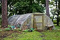 Easton Lodge Gardens, Little Easton, Essex, England ~ polytunnel hoop house.jpg
