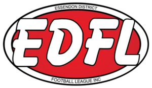 Essendon District Football League - Image: Edfl football logo