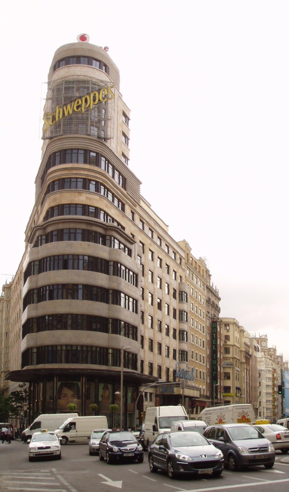 Edificio carri n wikipedia la enciclopedia libre - Arquitectos interioristas madrid ...