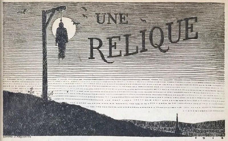 File:Edmond J Massicotte - Title illustration - Une relique by Louis Frechette.jpg