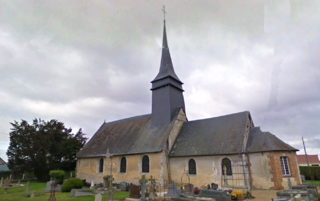 Treis-Sants-en-Ouche Commune in Normandy, France