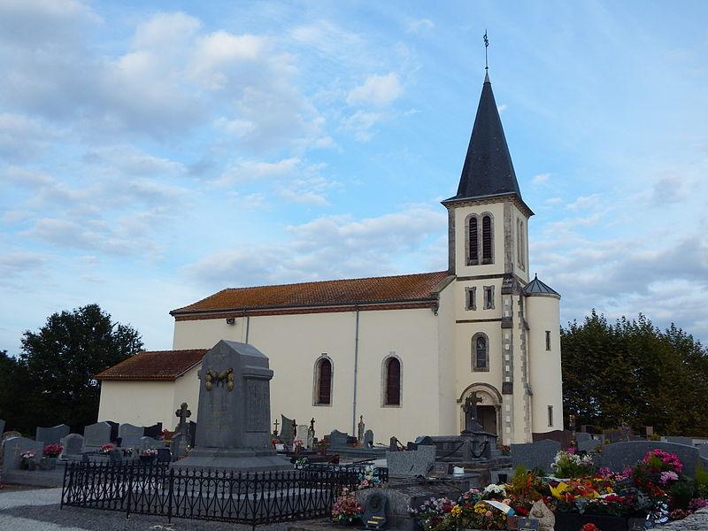 Église Sainte-Eugénie de Candresse (Landes, France)