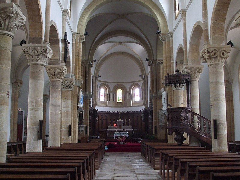 Eglise de Gibles, Saône et Loire, Bourgogne, France