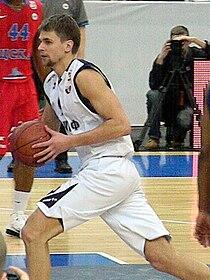 Egor Vyaltsev at all-star PBL game 2011.JPG