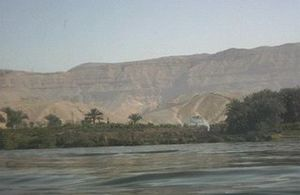 Water conflict in the Middle East and North Africa -  Nile River in Egypt