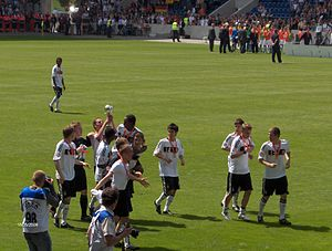 2009 UEFA European Under-17 Championship - The champions on their lap of honour