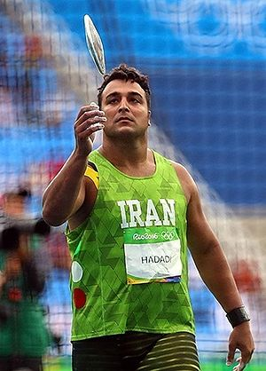Ehsan Haddadi - Ehsan Hadadi at the 2016 Summer Olympics