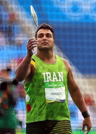 Iran at the 2016 Summer Olympics - Ehsan Haddadi in men's discus throw.