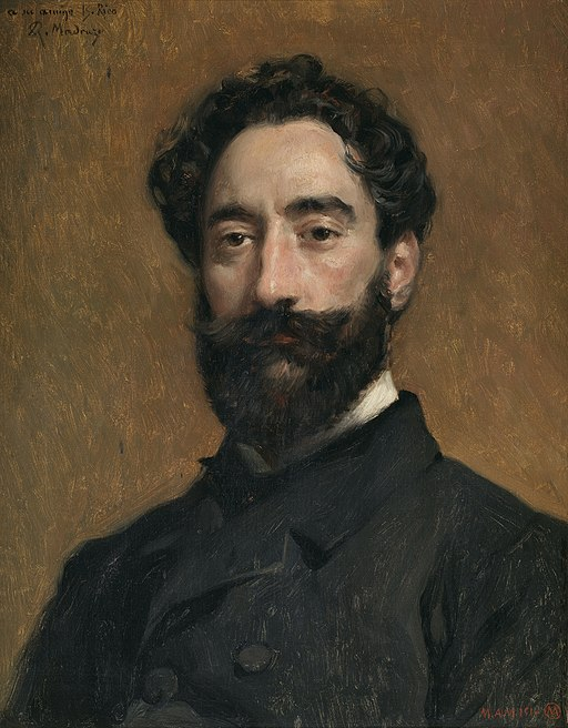 El grabador Bernardo Rico, por Raimundo Madrazo